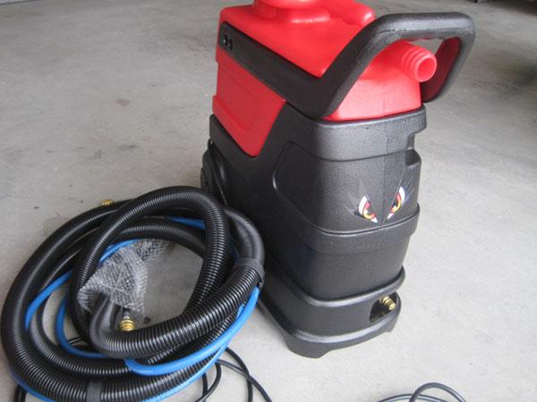 ■ハウスクリーニング/車内清掃に最適!■スナイパー3 ホット - 温水スチームカーペットリンサー