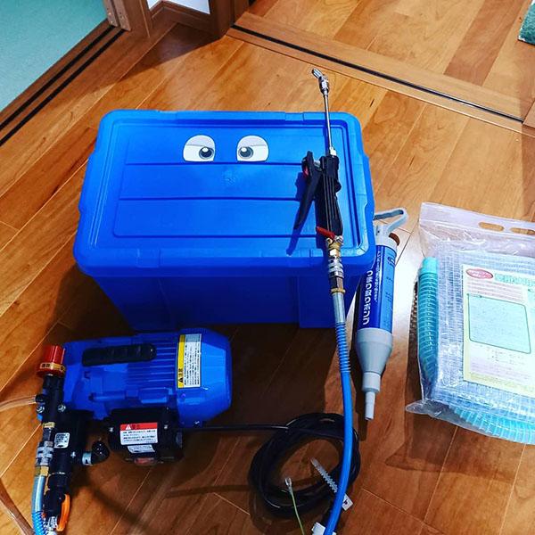 丸山製作所 エアコン洗浄機